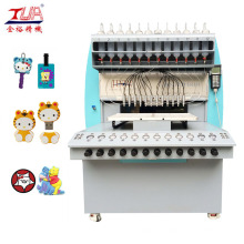 12 Farben Automatische Kunststoff-PVC-Abgabemaschine