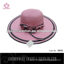 lady wide brim hats straw hat sun hat