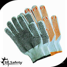 SRSafety 7 Gauge Все виды перчаток / Пунктирная хлопчатобумажная перчатка, наяровальная поликоттовая нить трикотажные пронзающие перчатки