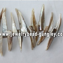 irregular shape freshwater shell loose beads