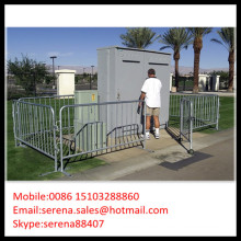 China factory sales movable crowd control galvanised portable fence