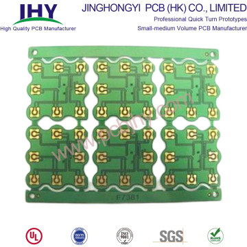 Carte PCB simple face d'or d'immersion