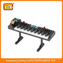 LOZ electronic organ building block brick toy ,Intelligent construction block toy