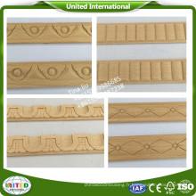 Moulure en bois pour meubles / moulure en bois sculpté