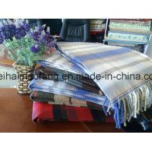 Traje de picnic con flecos de algodón puro y cuadros escoceses