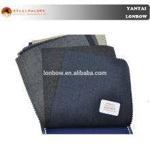 Italiano famoso marca Angelico 100 lã merino lã penteado tecido em feito para medir o serviço