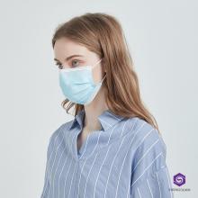 Gaze 3-lagig bedruckte Einweg-Gesichtsmaske