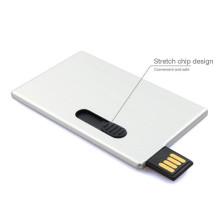 Bâton de mémoire d'entraînement d'instantané d'USB de carte bancaire de crédit