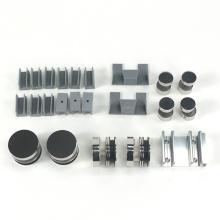 Custom Color Stainless steel 2 panel roller set shower sliding glass door hardware