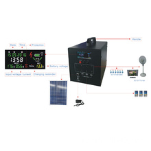 Sistema solare 60W con display LCD