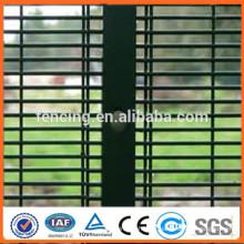 Barrière galvanisée galvanisée enduite de PVC 358 haute sécurité