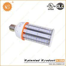 UL Dlc IP64 6000k E39 E40 9000lm luz do COB do milho do diodo emissor de luz de 60W