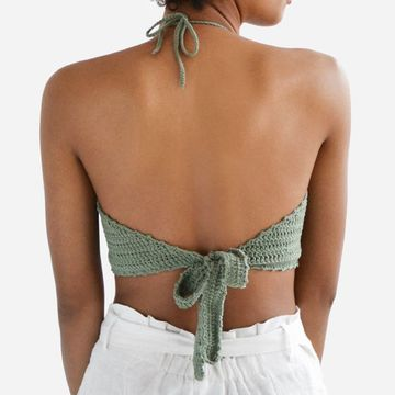 Hot Fashion Crochet A Neckholder Top