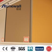 Alunewall Brand High Quality Machine Produce With Best Price List 4mm Nano PVDF Aluminium Composite Panel