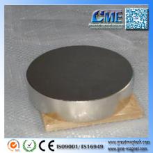 Magnetische Scheibenmagnet Runde große industrielle Magneten
