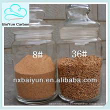 medios de filtro de cáscara de nuez para el tratamiento del agua