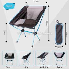 Cadeira de acampamento dobrável portátil, cadeira de acampamento dobrável, dobrando a cadeira de acampamento