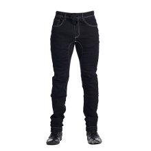 Men's Denim Jogger Pants Black Cotton Denim Pants