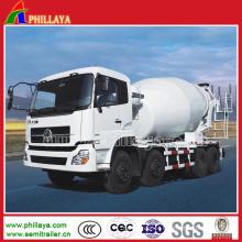 Cimento do caminhão de reboque 6X4 resistente semi / misturador concreto