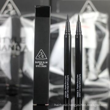 Black Supper Slim Pen Eye Liner with Box Package (EYE-26)
