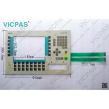 6AV3637-1LL00-0AX1 Teclado de membrana OP37 / teclado de membrana 6AV3637-1LL00-0AX1 OP37