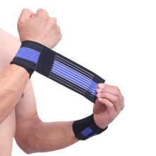 Adjustable Breathable Wrist Sweat Bands Sport Wrist Wraps for Training