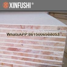 18mm madeira compensada 2440 * 1220 núcleo de álamo e papel de melamina com grão de madeira