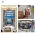 Diseño de colores de ventana de aleación de aluminio para villa