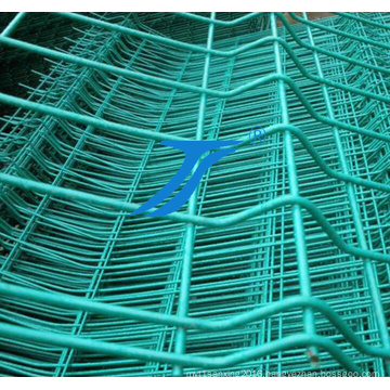 High Quality Curvy Fence / V Crimped Triangle Bending Fence