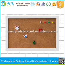"""small cork boards with photo frame white frame board 20*30cm/7.8*11.8"""""""