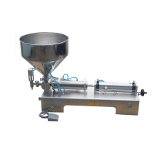 Manual Hot Sauce Filling Machine