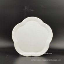 Novel Design Flower Shape Dinnerware Plate
