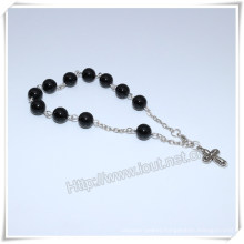 High Quanlity Stone Chain Catholic Bracelet (IO-CB178)