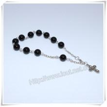 High Quanlity Stone Chain Catholic Bracelet (IO-CB178)