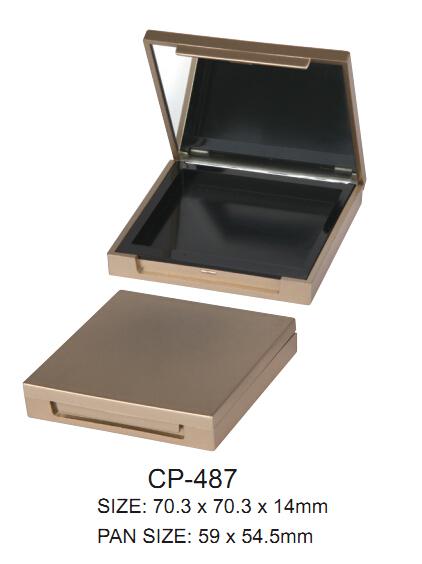 square compact case