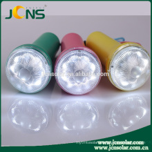 Hot Selling Long Distance Camping Solar High Power Led Torch Light for Africa