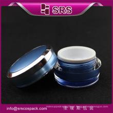 Moda Cone Forma Plástico Bonito Skincare Container E Vazio Novo Frasco Acrílico 15g