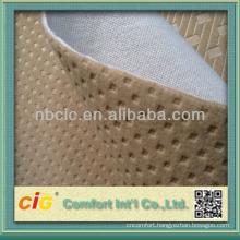 Polyester Car Seat USA Emboss Brushed Fabric Bonding Fabrics