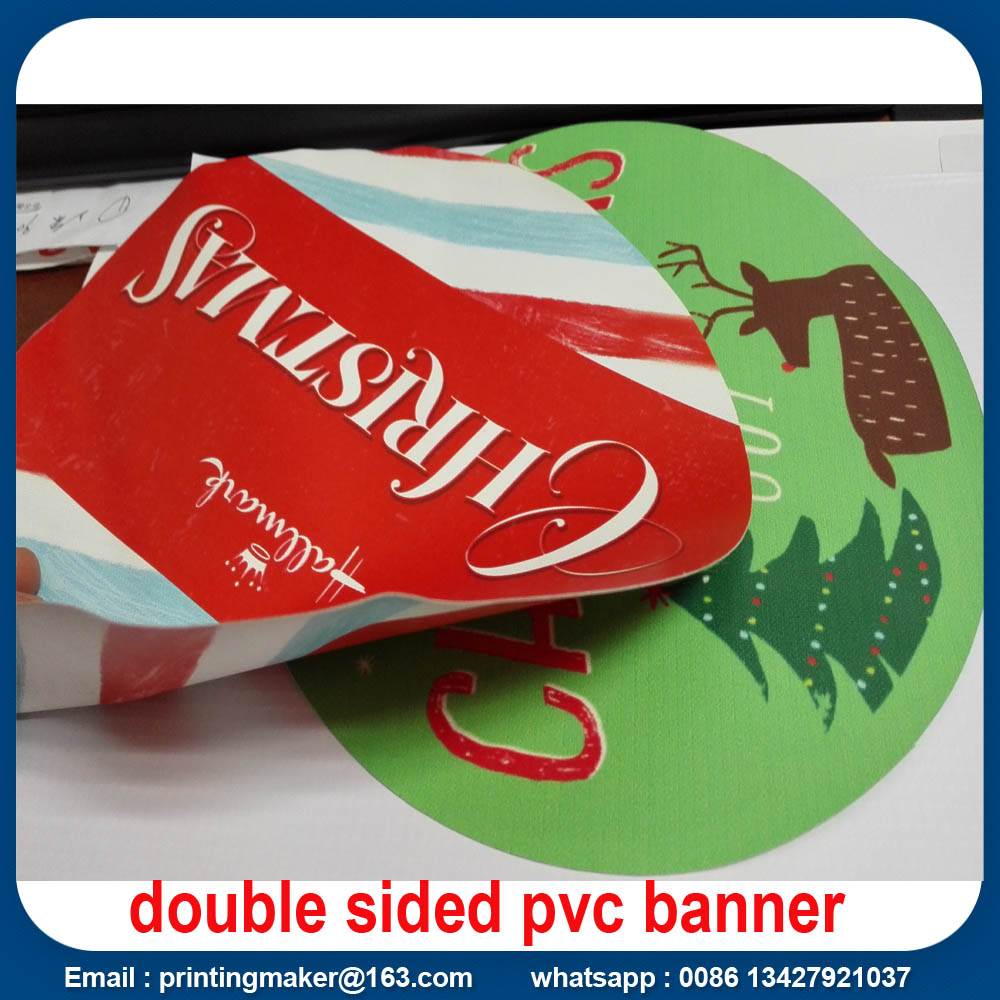 double sided hanging banner