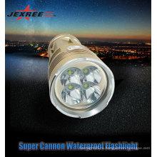 Противоударный противоскольжения 4 CREE стороны светодиодный фонарик перезаряжаемые фонарик