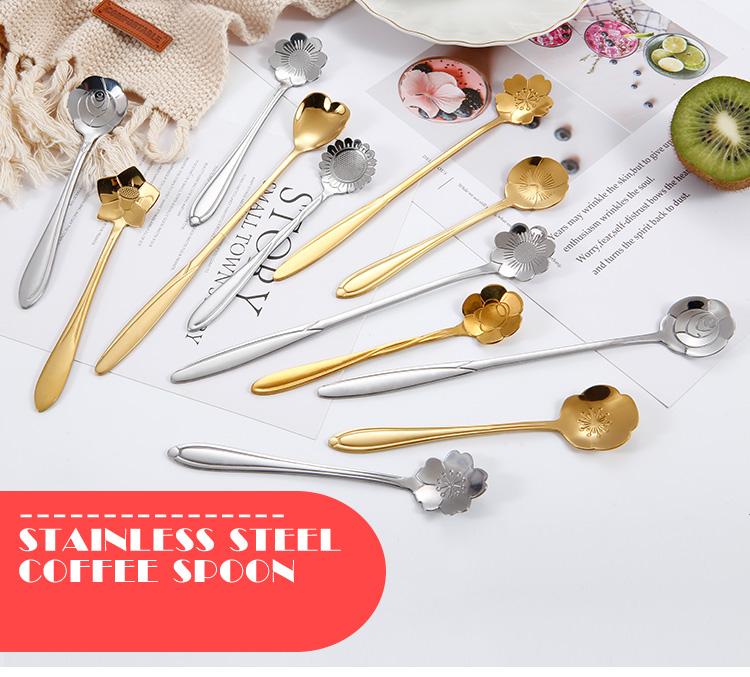 Flower Shape Stir Spoon