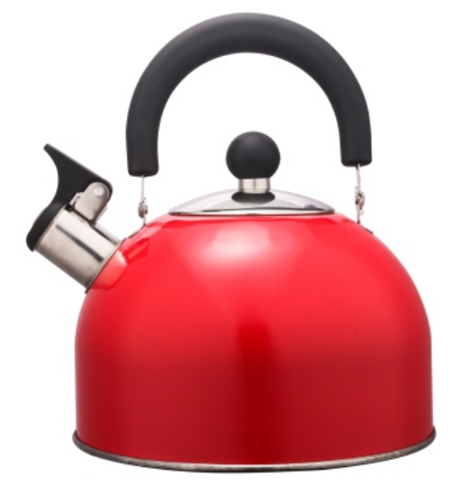 KHK001 1.5L Stainless Steel color painting Teakettle red color