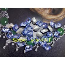Light Sapphire Crystal Stones Fancy Rhienstones (DZ-3008)