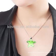Оптовая yiwu дешевые звезды форме кристалла бриллиант кулон