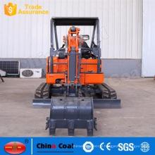 1.8 Ton Earth Moving Machinery Mini Micro Crawler Excavator