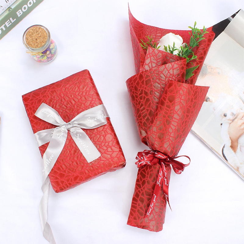 Waterproof wrapping paper for flower arrangement