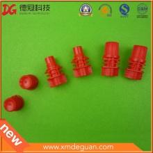 Personalizado para boquilla de inyección de plástico y tapa y bote para la bolsa líquida de pie