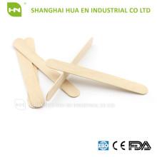 CE, ISO, FDA Nicht sterile 100% hölzerne Tougue Depressor für den zahnärztlichen Gebrauch