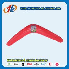 Bumerangue de plástico exterior elegante excelente para crianças