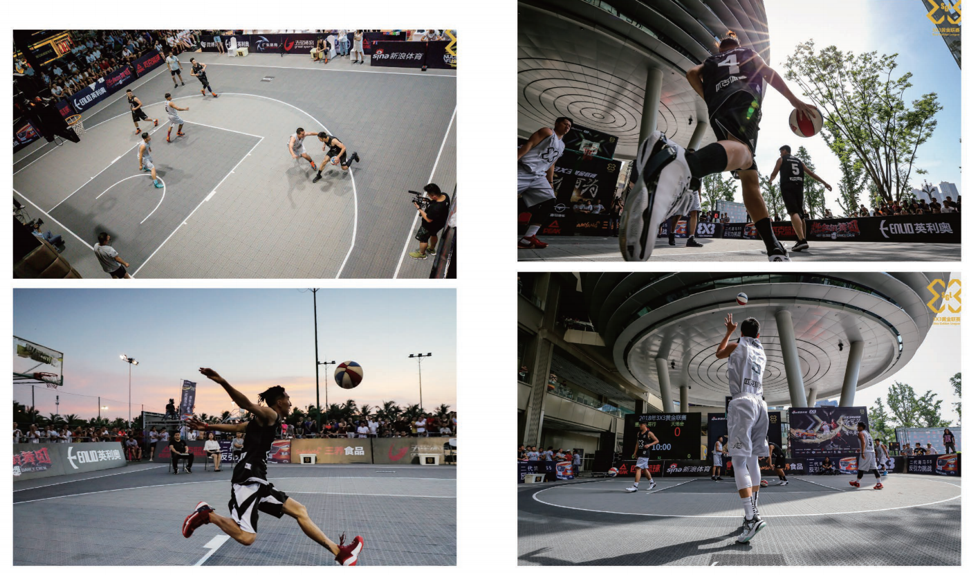 Sports Flooring Basketball Court Tiles